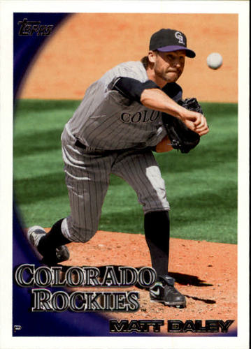 Photo of 2010 Topps Update #US236 Matt Daley