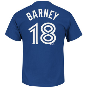 Darwin Barney Player T-Shirt by Majestic