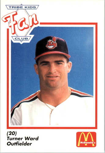 Photo of 1991 Indians Fan Club/McDonald's #28 Turner Ward
