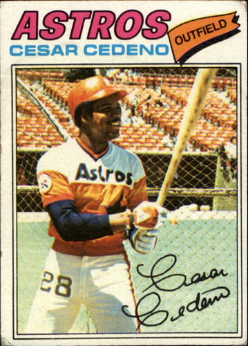 Photo of 1977 Topps #90 Cesar Cedeno