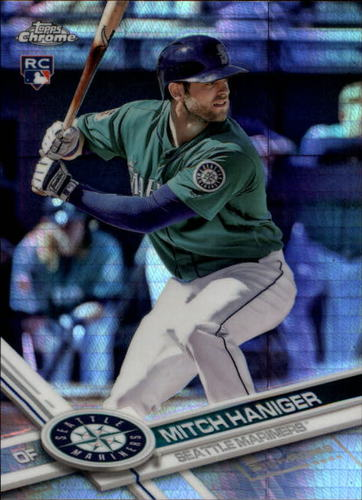 Photo of 2017 Topps Chrome Prism Refractors #29 Mitch Haniger