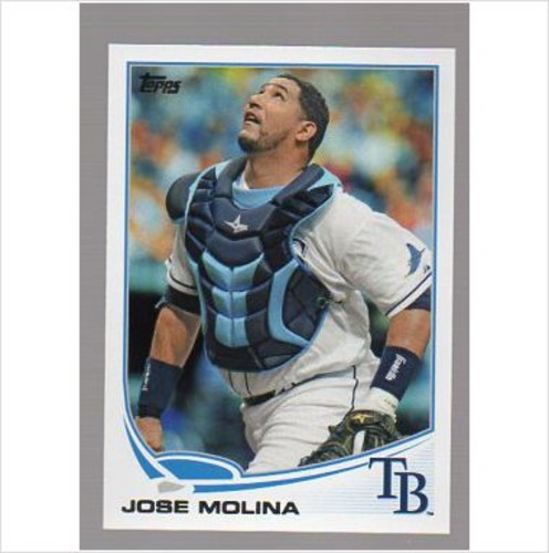 Photo of 2013 Topps #492 Jose Molina