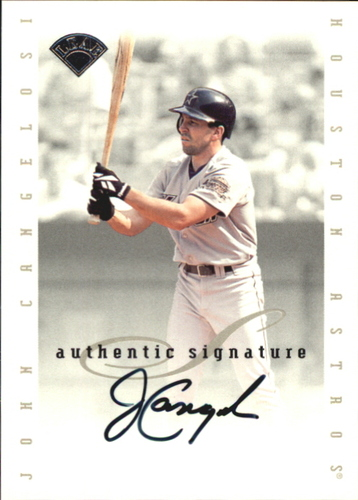 Photo of 1996 Leaf Signature Extended Autographs #23 John Cangelosi