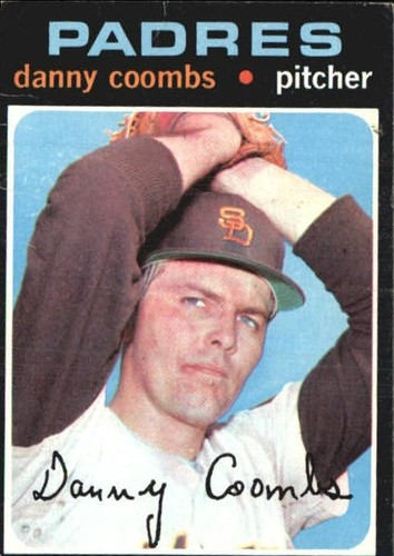 Photo of 1971 Topps #126 Danny Coombs