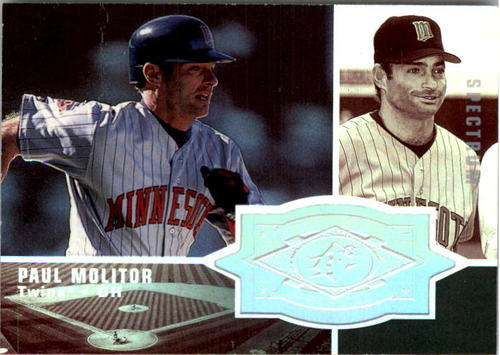 Photo of 1998 SPx Finite Spectrum #158 Paul Molitor SF