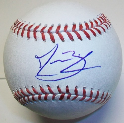 Photo of Jesse Biddle Autographed Official MLB Baseball