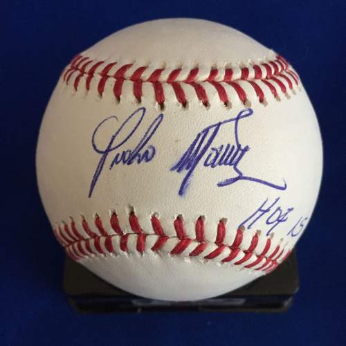 Photo of UMPS CARE AUCTION: Pedro Martinez Signed Baseball