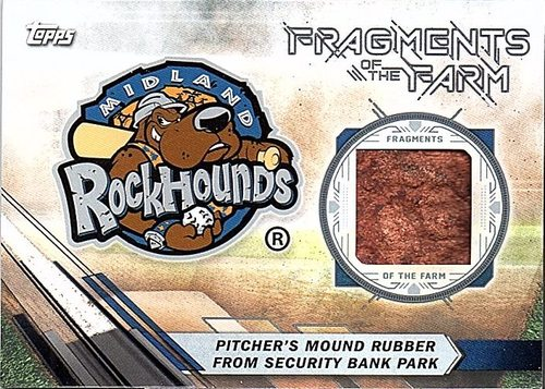 Photo of 2017 Topps Pro Debut Fragments of The Farm Relics #FOTFMR Security Bank Park Mound Rubber