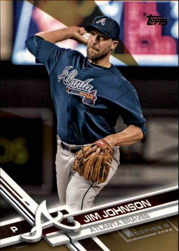 Photo of 2017 Topps Gold #374 Jim Johnson