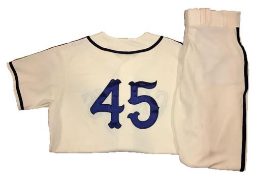 Photo of Gerrit Cole Game-Used Homestead Greys Jersey and Pants