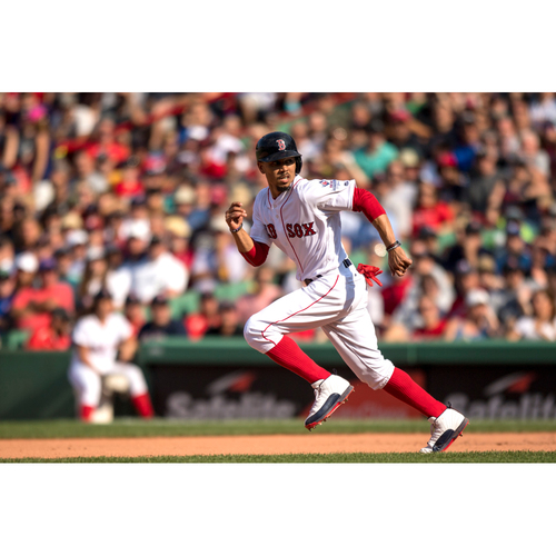 Photo of Red Sox Foundation 15th Anniversary - Mookie Betts Game-Used and Autographed Jersey