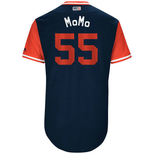 """Photo of Stephen """"MoMo"""" Piscotty St. Louis Cardinals Game-Used Players Weekend Jersey"""