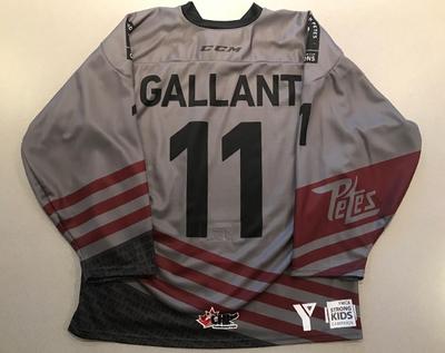 Zach Gallant (#11) - '93 Petes Alumni Jersey