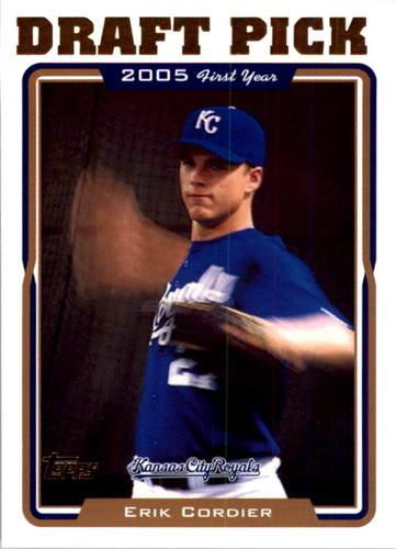 Photo of 2005 Topps #675 Erik Cordier FY RC