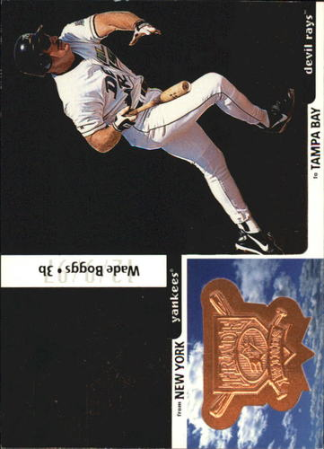 Photo of 1998 SPx Finite #347 Wade Boggs TW