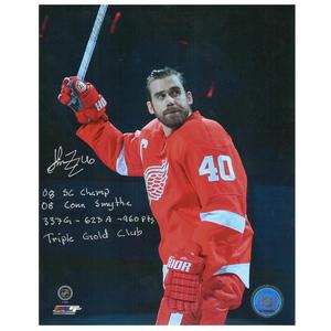 NIKOLAI KHABIBULIN Signed Edmonton Oilers 8 X 10 Photo - 70214