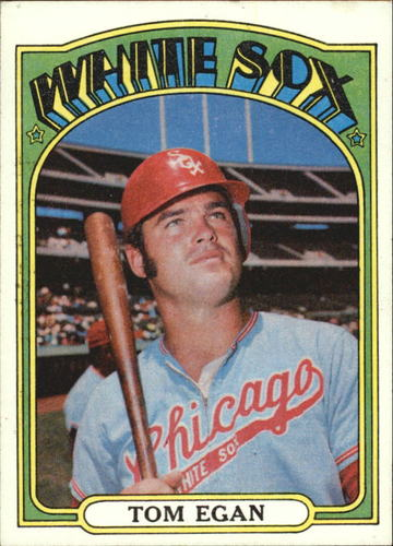Photo of 1972 Topps #207 Tom Egan