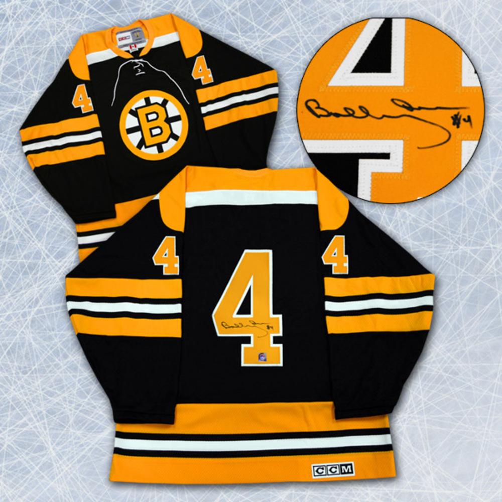 BOBBY ORR Autographed Boston Bruins CCM Retro Hockey Jersey: GNR COA