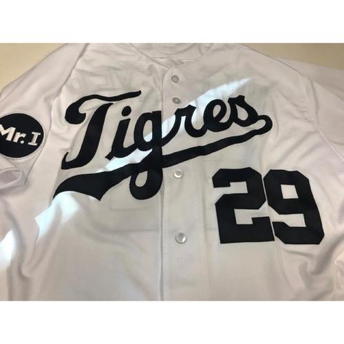 Photo of Team-Issued Fiesta Tigres Jersey: Mick Billmeyer