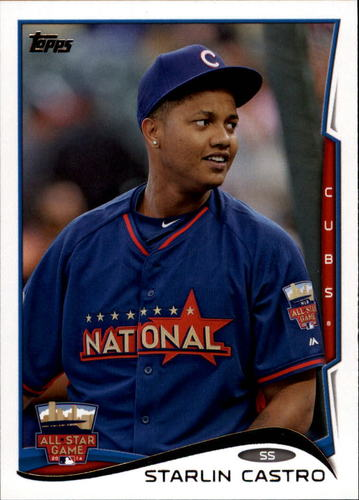 Photo of 2014 Topps Update #US103 Starlin Castro