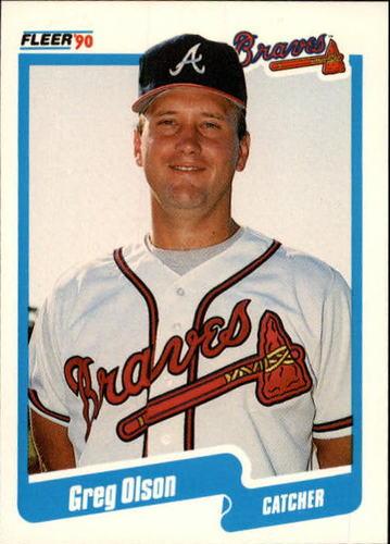 Photo of 1990 Fleer Update #5 Greg Olson (C) RC