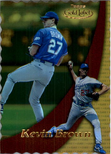 Photo of 2000 Topps Gold Label Class 1 Gold #12 Kevin Brown