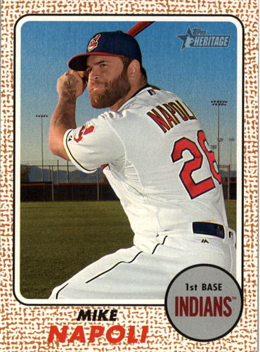 Photo of 2017 Topps Heritage #37 Mike Napoli