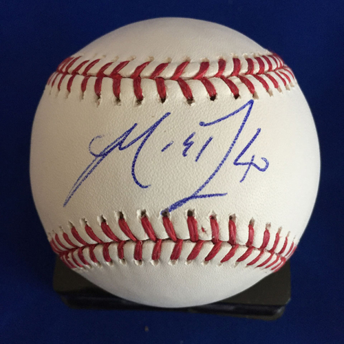 Photo of UMPS CARE AUCTION: Madison Bumgarner Signed Baseball