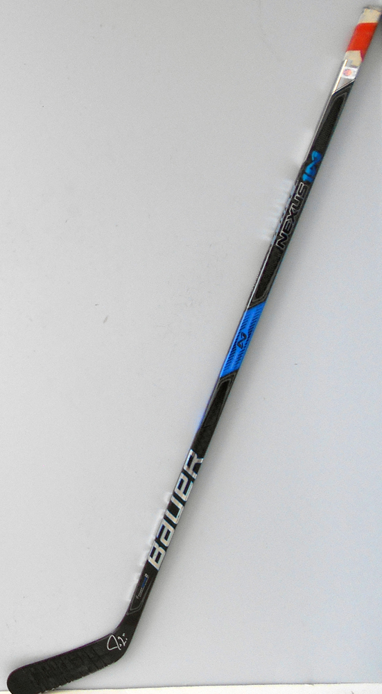 #14 JordanEberle Game Used Stick - Autographed - Edmonton Oilers