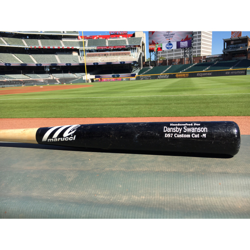 Photo of Harvey Relief Auction - Dansby Swanson Used Bat 1