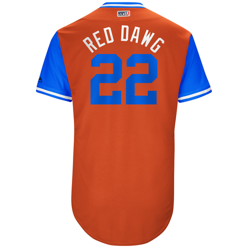 "Photo of Josh ""Red Dawg"" Reddick Houston Astros Game-Used Players Weekend Jersey"
