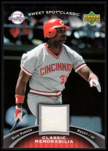 Photo of 2007 Sweet Spot Classic Classic Memorabilia #DP Dave Parker Reds