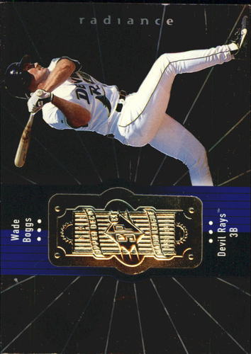 Photo of 1998 SPx Finite Radiance #324 Wade Boggs