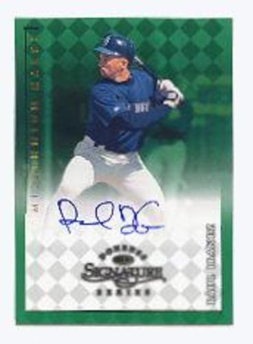 Photo of 1998 Donruss Signature Autographs Millennium #61 Raul Ibanez