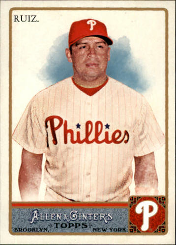 Photo of 2011 Topps Allen and Ginter #249 Carlos Ruiz