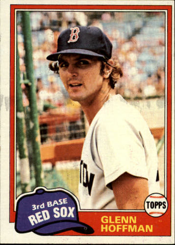 Photo of 1981 Topps #349 Glenn Hoffman RC