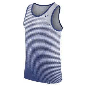 Tri Fade Tank White/Royal by Nike