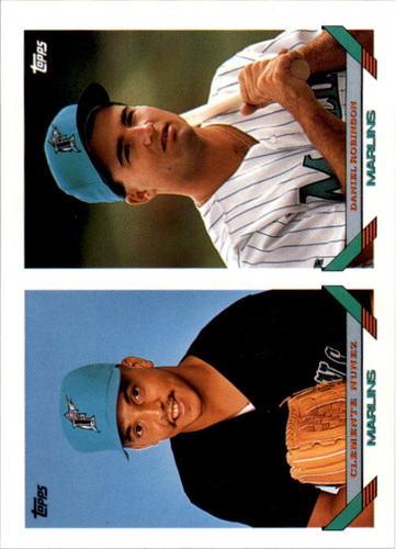 Photo of 1993 Topps #599 Clemente Nunez/Daniel Robinson