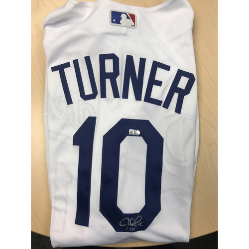 Photo of LADF Blue Diamond Gala Auction: Justin Turner Authentic Autographed Jersey