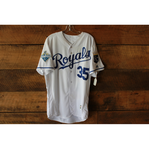 Photo of Eric Hosmer Game-Used Jersey (9/27/16 MIN @ KC) (Size 46)