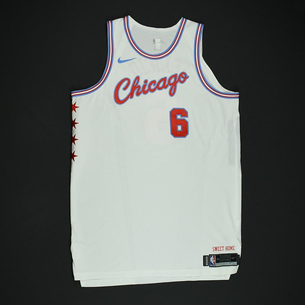 Christiano Felicio - Chicago Bulls - Game-Worn 'City' Jersey - 2017-18 Season