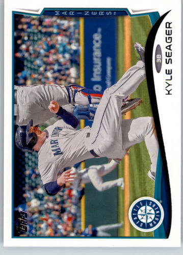 Photo of 2014 Topps #73 Kyle Seager
