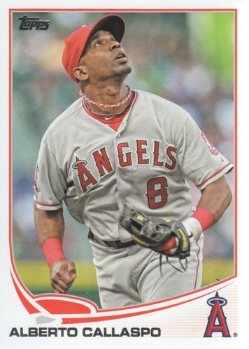 Photo of 2013 Topps #494 Alberto Callaspo