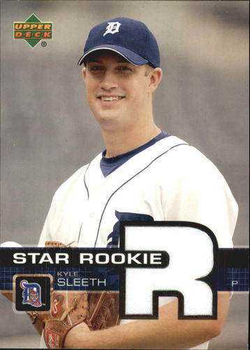 Photo of 2003 Upper Deck Prospect Premieres Game Jersey #P91 Kyle Sleeth
