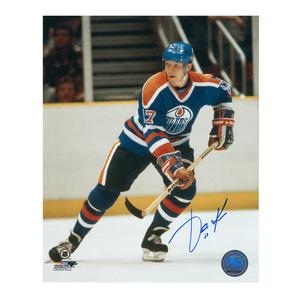 JARI KURRI Signed Edmonton Oilers 8 X 10 Photo - 70481