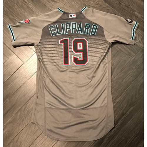 Photo of Tyler Clippard 2016 Team-Issued Jersey