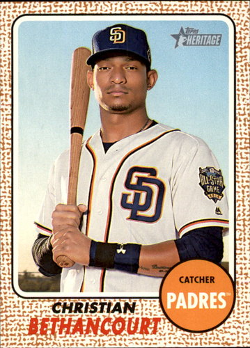 Photo of 2017 Topps Heritage #99 Christian Bethancourt