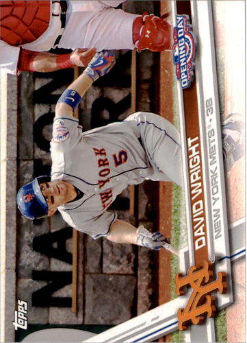 Photo of 2017 Topps Opening Day #38 David Wright