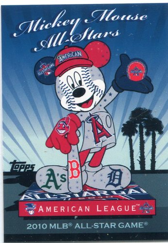 Photo of 2010 Topps Mickey Mouse All-Stars #MM2 American League