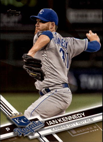 Photo of 2017 Topps Gold #449 Ian Kennedy
